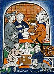 Goliards à la taverne